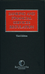 Banking and Financial Services  Regulation 3/ed
