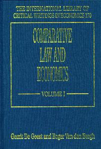 Comparative Law and Economics ( 3 Vol Set )