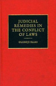 Judicial Remedies in the Conflict of Laws