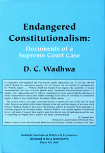 Endangered Constitutionalism: Documents of a Supreme Court Case