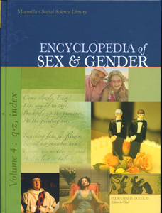 Encyclopedia of Sex & Gender 4 Vol. Set,
