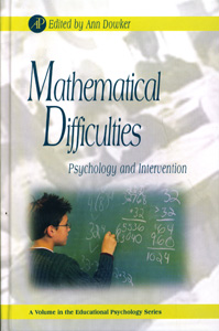 MATHEMATICAL DIFFICULTIES  Psychology and Intervention
