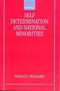 Self-Determination and National Minorities