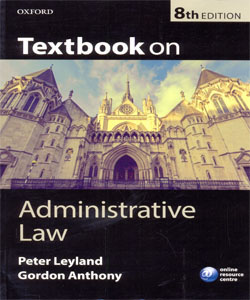 Textbook on Administrative Law 8Ed.