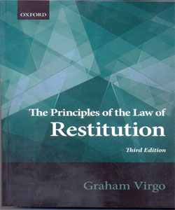 The Principles of the Law of Restitution 3Ed.