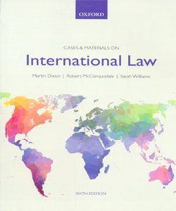 Cases & Materials on International Law 6Ed.