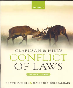 Clarkson & Hill's Conflict of Laws 5Ed.