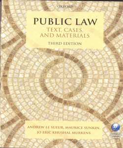 Public Law Text, Cases, and Materials 3Ed.