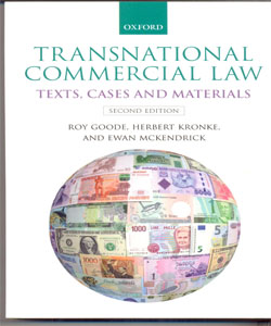 Transnational Commercial Law  Texts, Cases and Materials 2Ed.