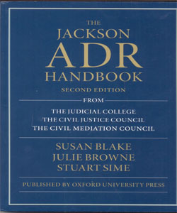 The Jackson ADR Handbook 2Ed.