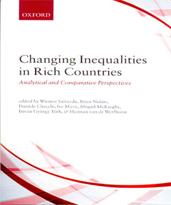Changing Inequalities in Rich Countries Analytical and Comparative Perspectives