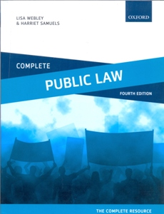Complete Public Law Text, Cases, and Materials 4Ed.