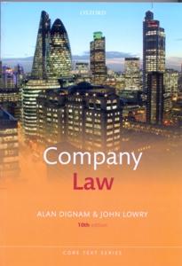 Company Law 10Ed.