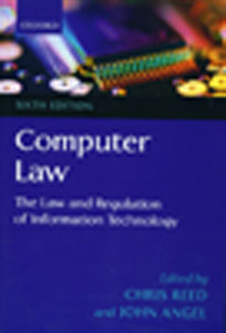 The Law and Regulation of Information Technology 6th/Ed