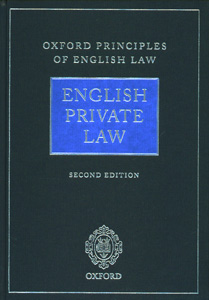 English Private Law 2nd/Ed