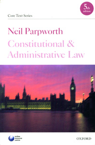 Constitutional and Administrative Law 5th Edition