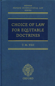 Choice of Law for Equitable Doctrines