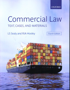 Commercial Law Text, Cases, and Materials 4th Ed