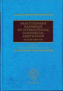Practitioner's Handbook on International Commercial Arbitration