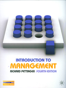 Introduction to Management 4th/Ed