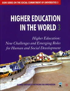 Higher Education in the World 3, 3rd/Ed
