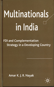 Multinational in India : FDI and Complementation Strategy in a Developing Country