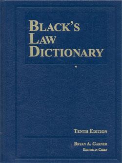 Blacks's Law Dictionary 10ed.