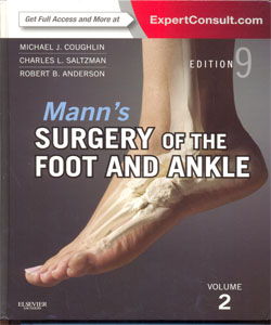 Mann's Surgery of the Foot and Ankle 9Ed. 2 Vol.Set.