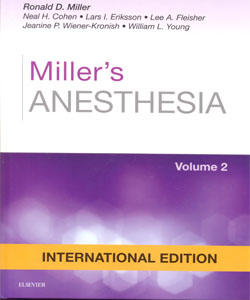 Miller's Anesthesia 8Ed.2 Vol.Set