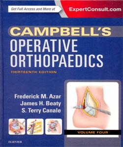 Campbell's Operative Orthopaedics 13th Ed. 4 Vol.Set.