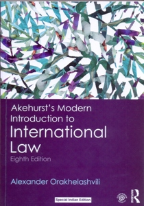 Akehurst's Modern Introduction to International Law 8Ed.