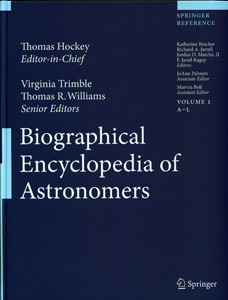 The Biographical Encyclopedia of Astronomers (2 Vol Set)