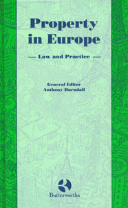 Property In Europe Law And Practice