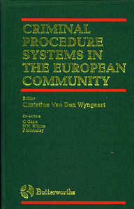 Criminal Procedure Systems in the European Community