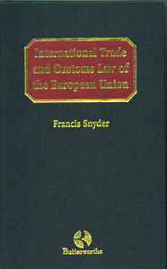 International Trade and Customs Law of the European Union