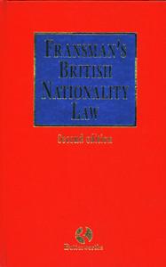 Fransman's British Nationality Law 2/ed