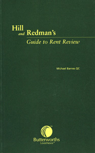 Hill and Redman's Guide to Rent Review