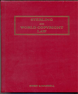 Sterling on World Copyright Law 4Ed.