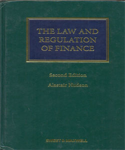 Law and Regulation of Finance, The
