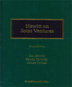 Hewitt on Joint Ventures 6Ed.