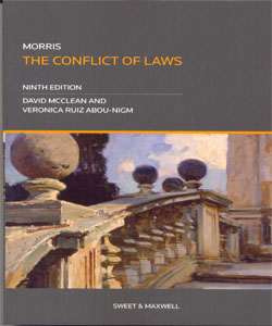 Morris The Conflict of Laws 9Ed.