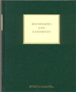 Boundaries and Easements