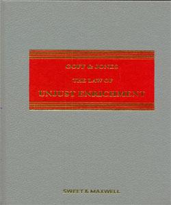 Goff & Jones: The Law of Unjust Enrichment 9Ed.