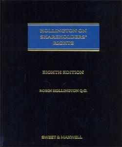 Hollington on Shareholders' Rights 8th Ed.
