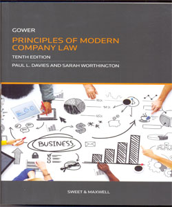 Gower & Davies: Principles of Modern Company Law 10Ed.