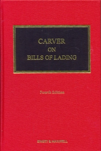 Carver on Bills of Lading 4Ed.