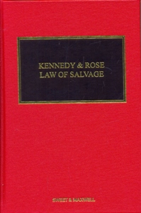 Kennedy and Rose on the Law of Salvage 9Ed.