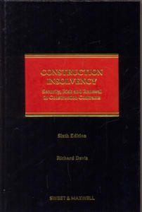 Construction Insolvency 6Ed.