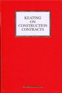 Keating on Construction Contracts 11Ed.