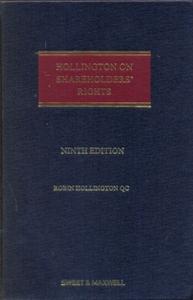 Hollington on Shareholders' Rights 9Ed.